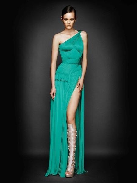 Abiti Eleganti Versace.Abito Da Sera 2011 Felice Abiti Da Sposa