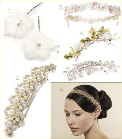 Giorno di nozze accessori per capelli